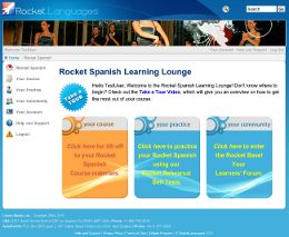 Rocket Spanish Learning Lounge Screen Shot